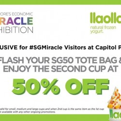 Capitol Piazza: 50% OFF for Economic Miracle Exhibition