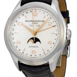 Jomashop: Baume & Mercier Men's Clifton Moonphase Automatic Watch, model no. 10055