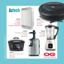OG: Oztech--kitchen essentials