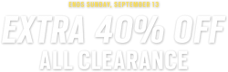 Men's WearHouse: Take's 40% OFF On Clearance items.