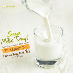 Mr Bean: Classic Soya Milk @only $1 (U.P. $1.50)