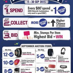 BHG: Spend $80 -- 20th Anniversary Auction
