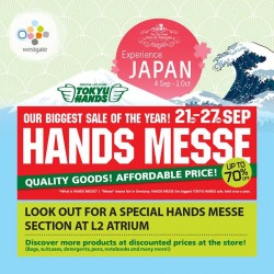 Westgate: Up to 70% OFF Hands Messe