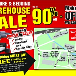 Harvey Norman: Furniture and Bedding Warehouse Sale up to 90% OFF