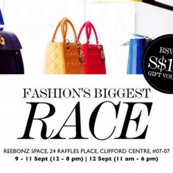 Reebonz: Fashion's Biggest Fun Coming to Town on 9 - 12 Sept --- Up to 70% OFF