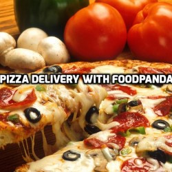 Pizza Delivery with FoodPanda!