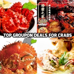 Groupon: Crab Deals You can't MISS!