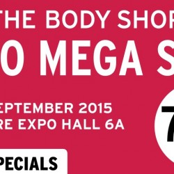The Body Shop: EXPO Mega Sale up to 70% OFF