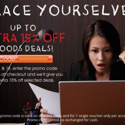 Groupon: Up to Extra 15% OFF Goods Deals