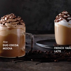 Starbucks: Duo Cocoa Mocha and French Vanilla Latte