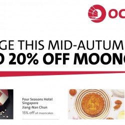OCBC: Up to 20% OFF Mooncakes