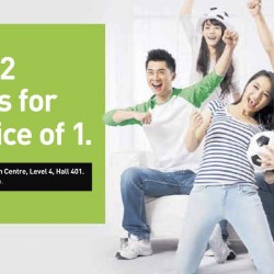 Starhub: Score 2 Phones for the Price of 1 at Comex Show!