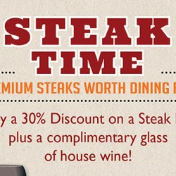 Mad For Garlic: 30% OFF Steak Dishes