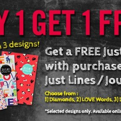 The Paper Stone: 20% OFF Online and Buy 1 Get 1 Free Journal