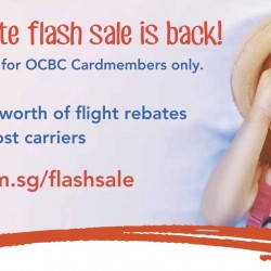 Zuji: Flash Sale for OCBC Cardmembers only!