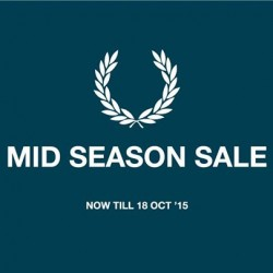 Fred Perry: MID Season Sale