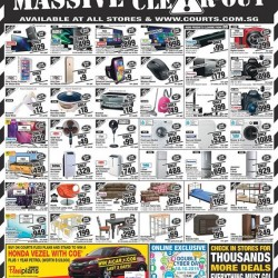 Courts: Friday Only Deals Clear-Out