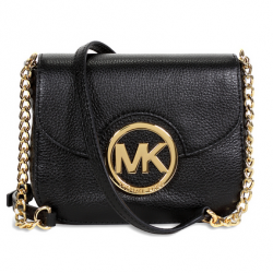 eBay: Michael Kors Fulton Leather Small Crossbody - Black