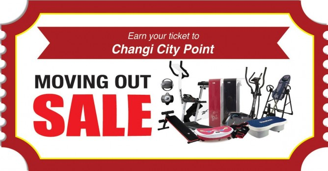 AIBI Fitness: Moving Out Sale at Changi City Point