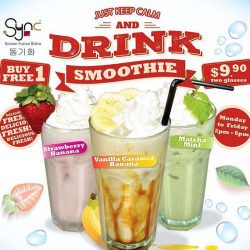 syncbistro: Buy 1 Free 1 Smoothie