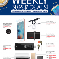 Challenger: ValueClub Weekly Super Deals
