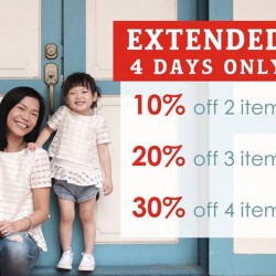 Camouflage Kids: Up to 30% OFF Extended Sale for 4 Days only