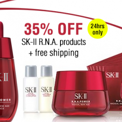 Rakuten: SK-II R.N.A Products @35% OFF.