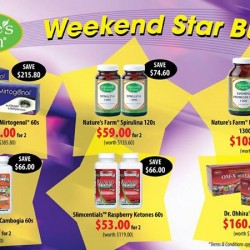 Nature's Farm: Weekend Star Buys