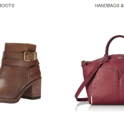 Amazon: Extra 20% OFF Coupon Code on Women's Bags and Shoes (Till Oct 8 2015, 3pm)
