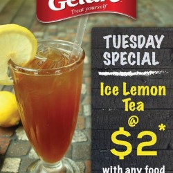 Gelare: Ice Lemon Tea @ $2