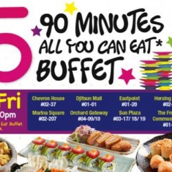 Sakae Sushi: $15 All You Can Eat 90min Buffet (Order from Menu)