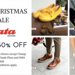Bata: Pre-Christmas Sale Up to 50% OFF