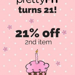 prettyFIT: 21% OFF 2nd Item