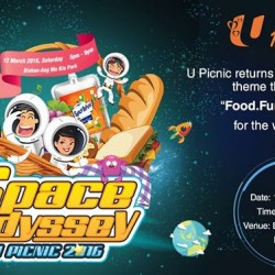 NTUC FairPrice: U Picnic Space Odyssey--Largest Family Picnic.