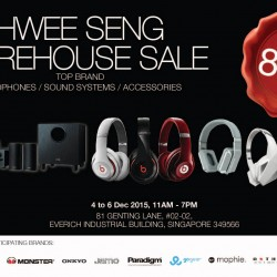 Hwee Seng Electronics: Warehouse Sale up to 80% OFF