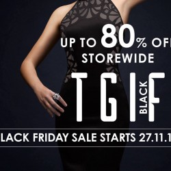 Robinsons: Black Friday Sale up to 80% OFF