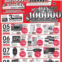 Go.BestDenki: Spin & Win with a min. spend of $200 @Great Prizes Worth $100.000.