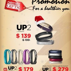 EpiCentre: Jawbone Christmas Promotion---Make You Healthier