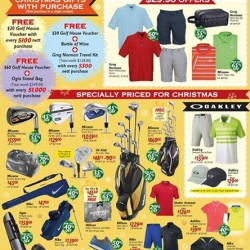 Golf House: Festive Golf Sale