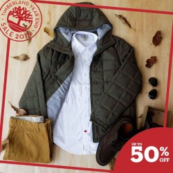 Timberland: Year End Sale 2015 @50% OFF.