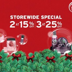 The Body Shop: Black Friday Up to 25% OFF