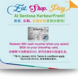 Sentosa HarbourFront Business Association: Eat, Shop, and Play