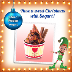 M1: 1-for-1 Frozen Yogurt at Sogurt