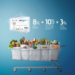 UOB: December Spend in Cold Storage--Delight @18% Rebate.