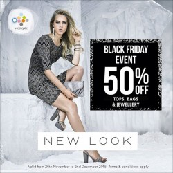 Westgate: 50% OFF Tops, Bags and Jewellery at New Look