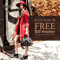 PAZZION: FREE $20 Voucher With Min. nett Purchase of $120