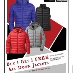 Outdoor Life: Down Jacket Buy 1 Get 1 Free