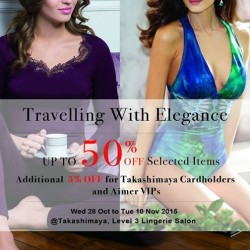 Aimer:  Up to 50% OFF Swimwear & Thermal Wear