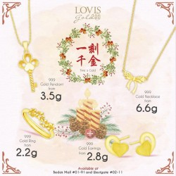 Lovis Diamonds: Time is Gold--999