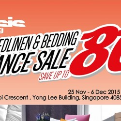 Oasis Living: Annual Bedlinen & Bedding Clearance Sale up to 80% OFF
